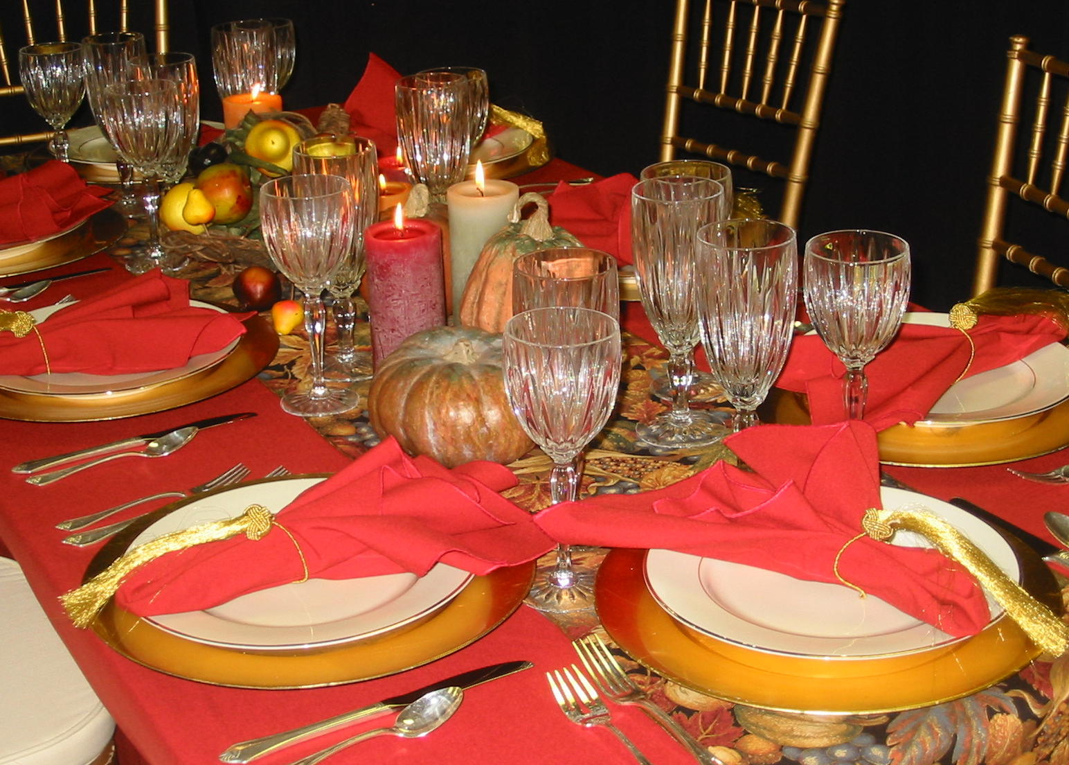 Thanksgiving table ideas good ideas and tips How to decorate your house for thanksgiving