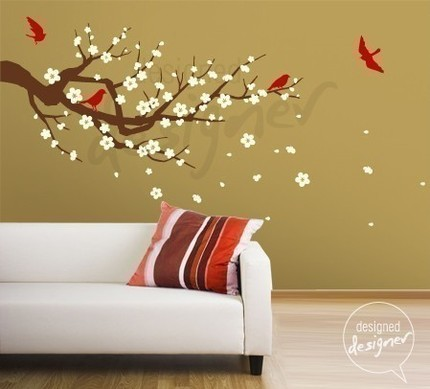 Cherry Blossom Wall - Good Ideas and Tips