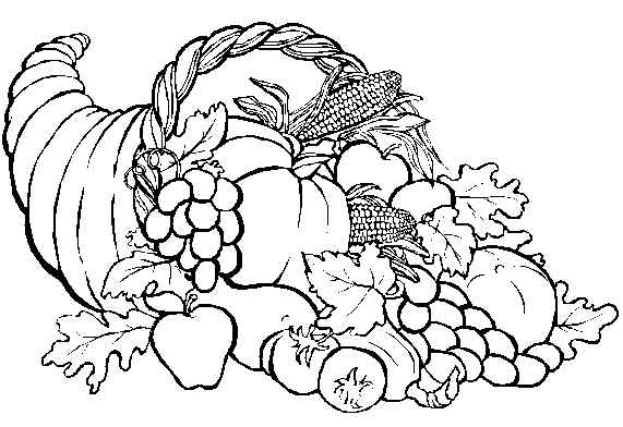 hard coloring pages for thanksgiving - photo#17