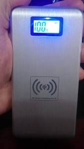 Wireless Qi 12000mAH Power Pack from ActionPie
