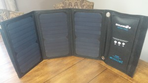 Blitzwolf Solar Panel Phone Charger
