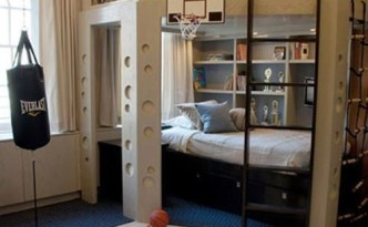 basketball bed design