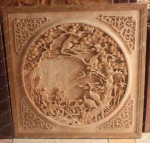 CNC machine carving