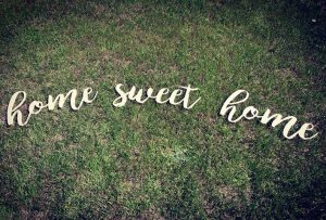 home sweet home cutout freckle barn