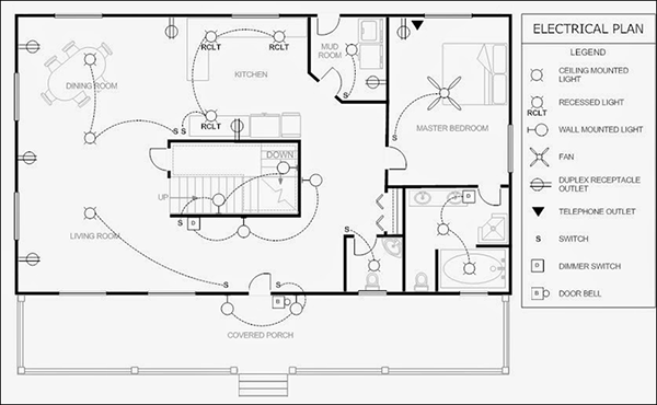 tips for planning the electrical layout when building a electrical plan drawings electrical plan vs reflected ceiling plan