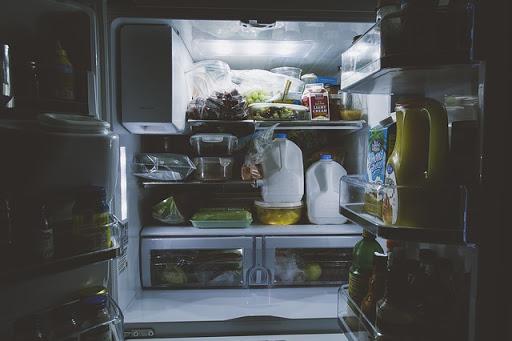 interior design refrigerator