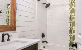 shiplap bathroom remodel