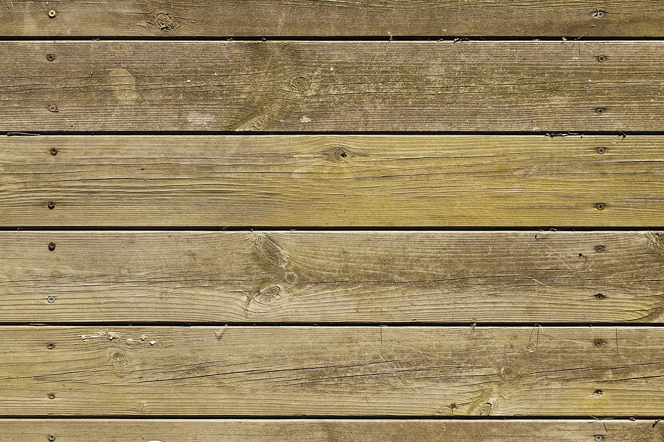 floorboards in a remodel