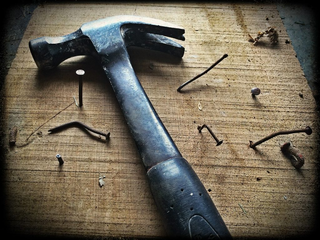 hammer for expensive home repairs
