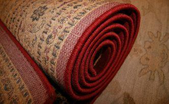 rug rolled up