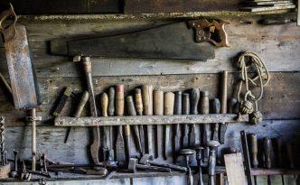 craft DIY antique tools